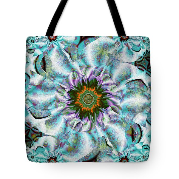 Flower Drum Song Tote Bag by Jim Pavelle