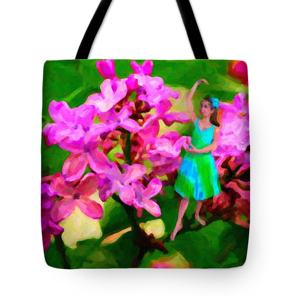 Flower Fairy  Tote Bag by Andre Faubert