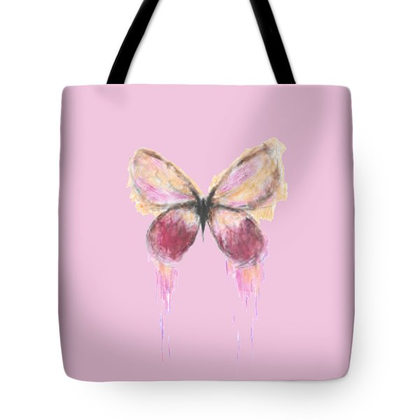 Flutterby  Tote Bag by Herb Strobino