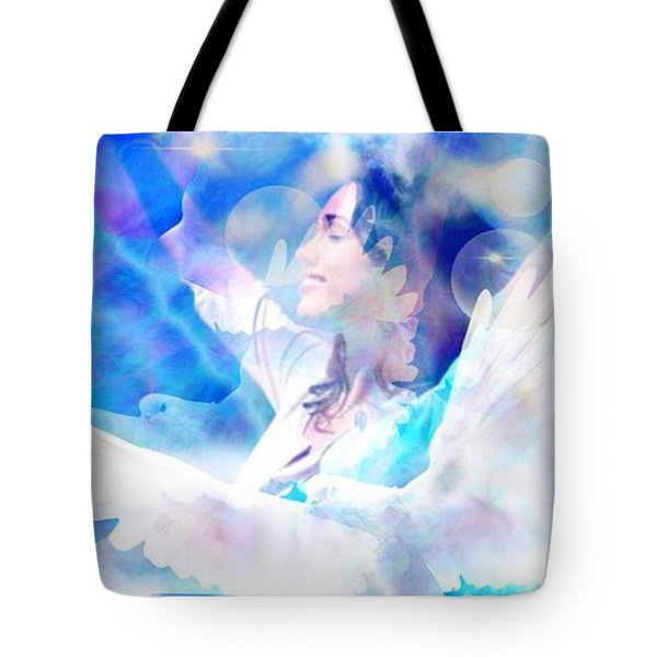 Fly From The Inside  Tote Bag by Diana Riukas