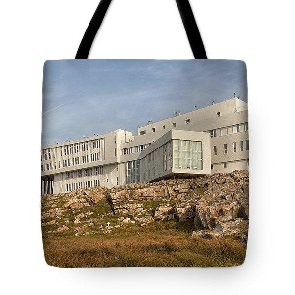 Fogo Island Inn Tote Bag by Eunice Gibb