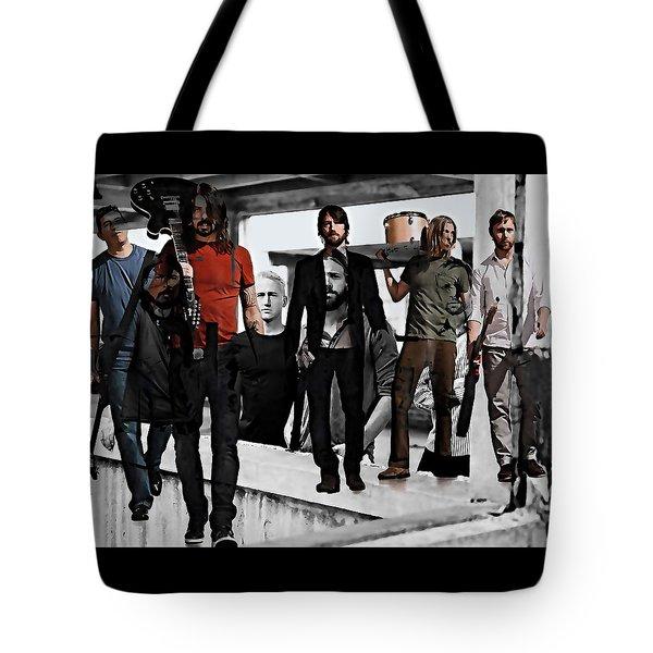 Foo Fighters Tote Bag