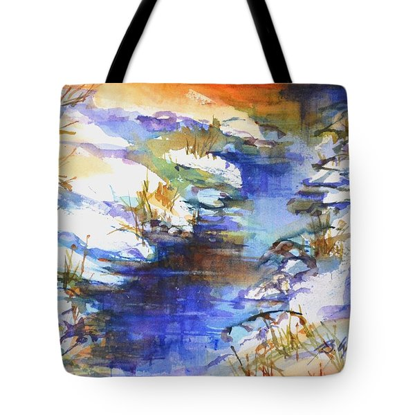 For Love Of Winter #3 Tote Bag