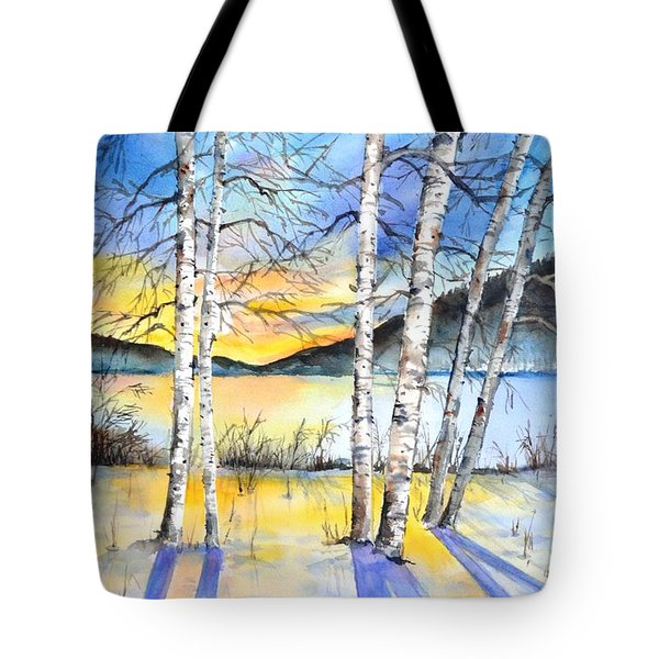 For Love Of Winter #5 Tote Bag