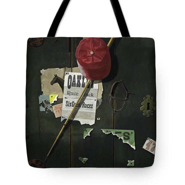 For The Track Tote Bag