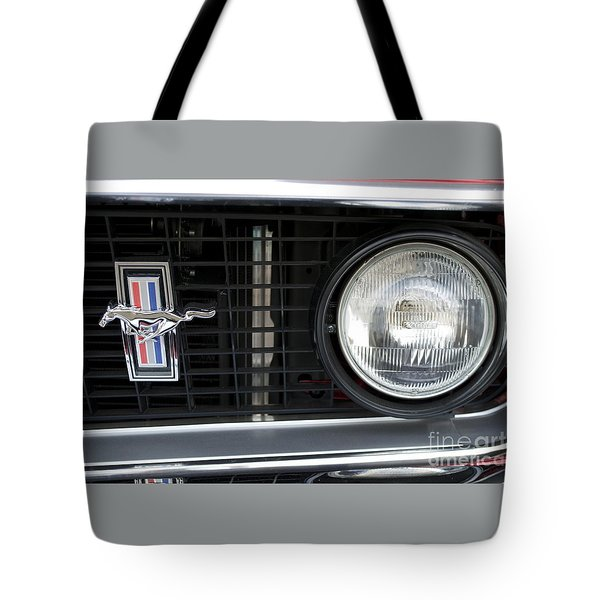 Ford Mustang   Tote Bag by Pamela Walrath