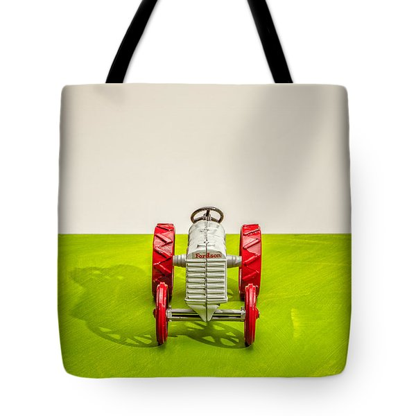 Fordson Tractor Front Tote Bag