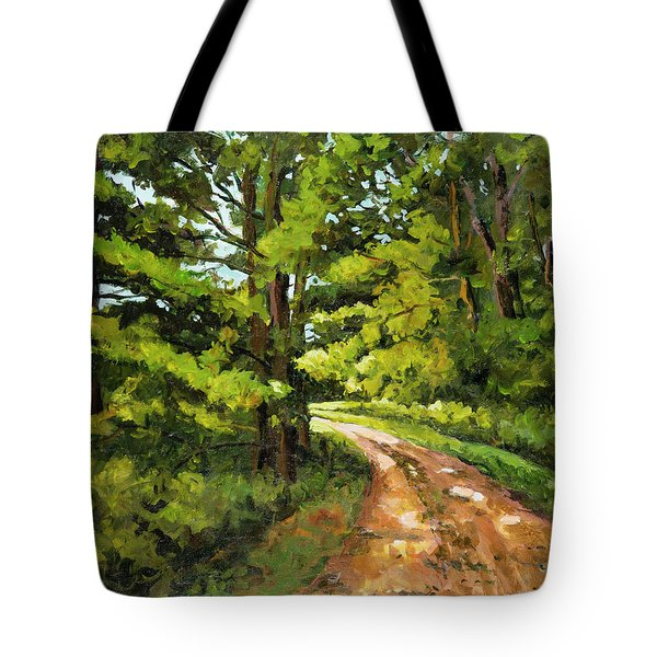 Forest Pathway Tote Bag