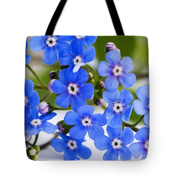 Tote Bag featuring the photograph Forget-me-not by Chevy Fleet
