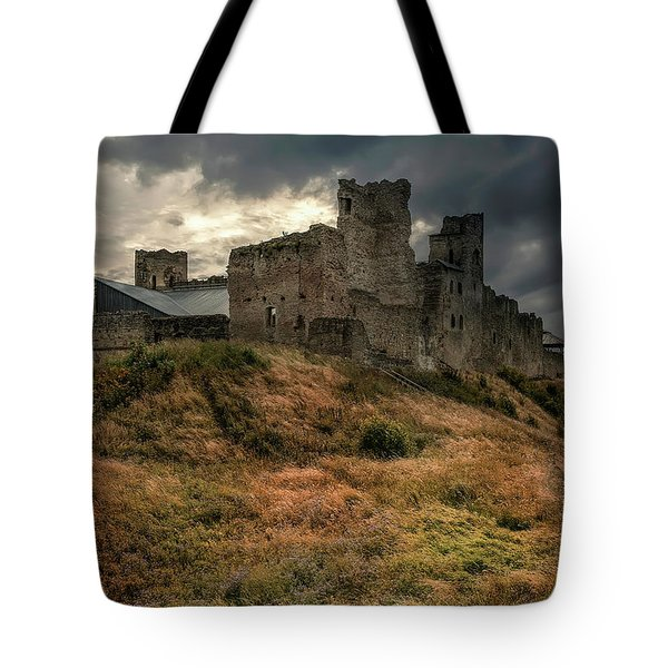 Tote Bag featuring the photograph Forgotten Castle by Jaroslaw Blaminsky