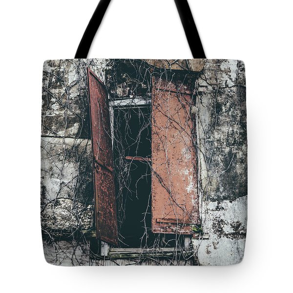 Tote Bag featuring the photograph Forgotten Homestead by Kim Hojnacki