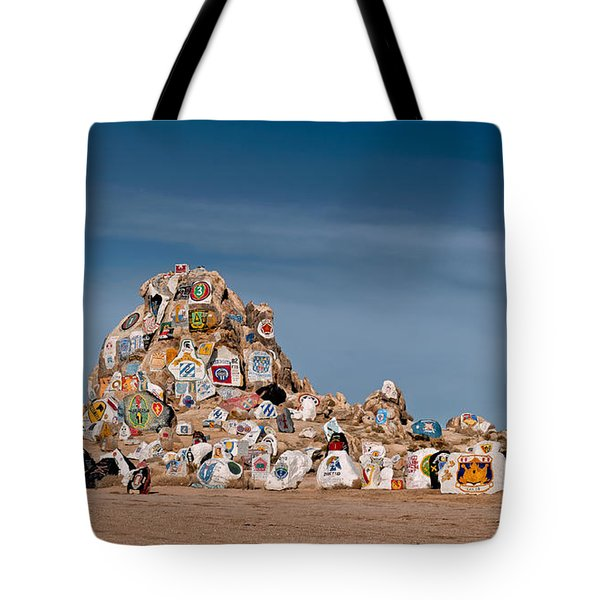 Fort Irwin Tote Bag