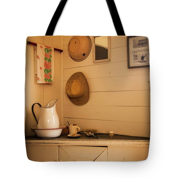 Fort Rock Museum Tote Bag