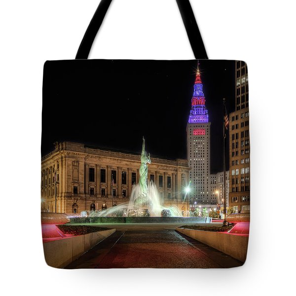 Fountain Of Eternal Life Tote Bag