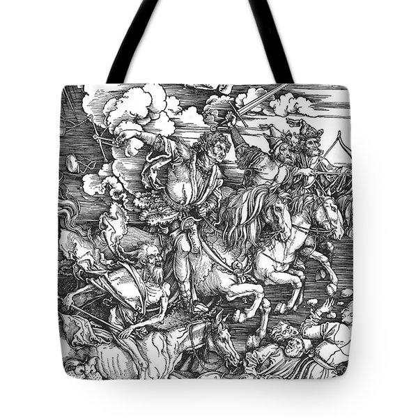 Four Horsemen Of The Apocalypse Tote Bag