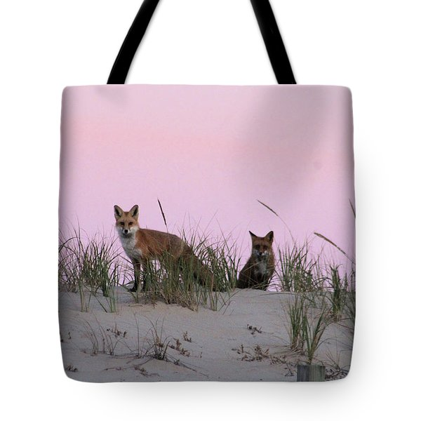 Fox And Vixen Tote Bag