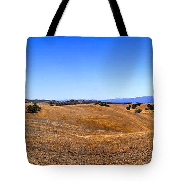 Foxen Canyon California Tote Bag by Chris Smith