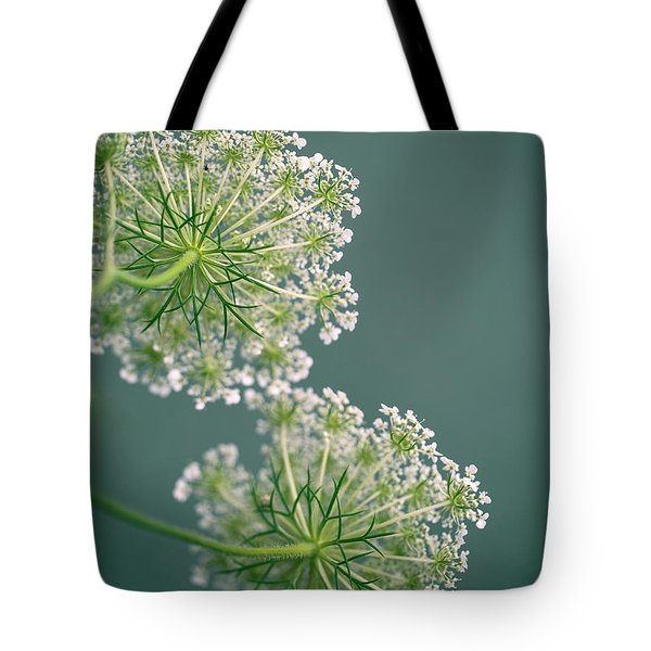 Fragile Dill Umbels On Summer Meadow Tote Bag