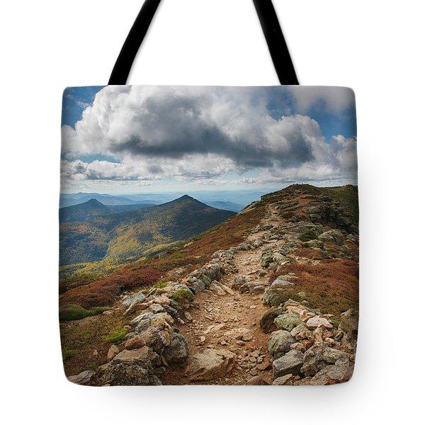 Franconia Ridge Trail - White Mountains New Hampshire Tote Bag