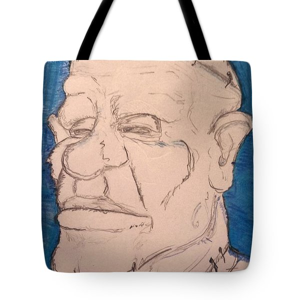Frankenstein's Nephew's Orthodontist's Cousin Phil. Tote Bag