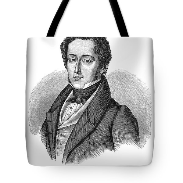 Frederic Chopin (1810-1849) Tote Bag by Granger