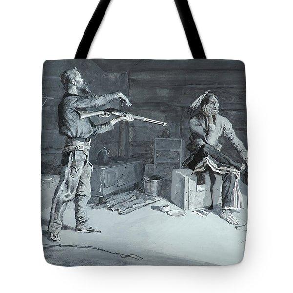 Frederic Remington Tote Bag