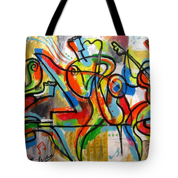 Free Jazz Tote Bag