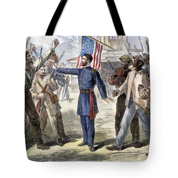 Freedmens Bureau, 1868 Tote Bag by Granger