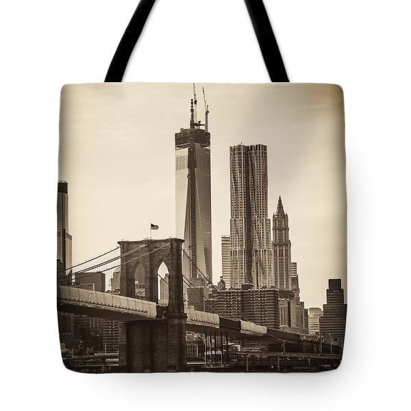 Freedom Tower Rising Tote Bag