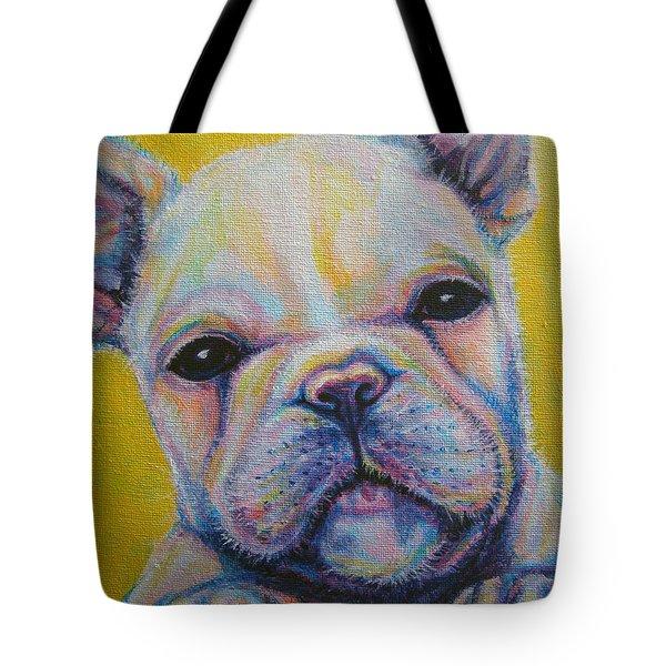 French Bulldog Tote Bag by Jack No War