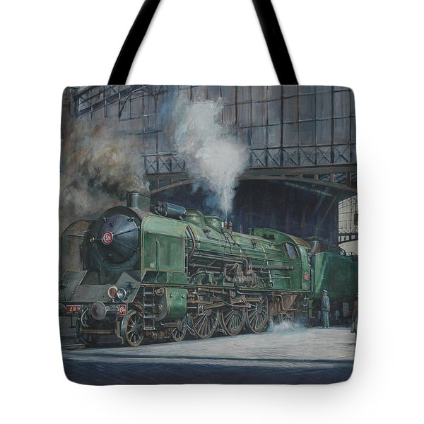 French Pacific Tote Bag