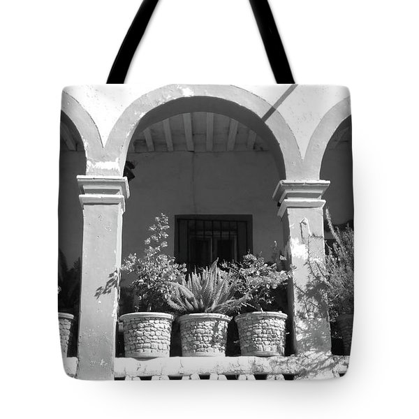 French Quarter Balcony Tote Bag