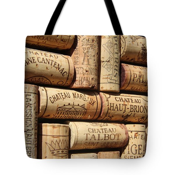 French Wines Tote Bag by Anthony Jones