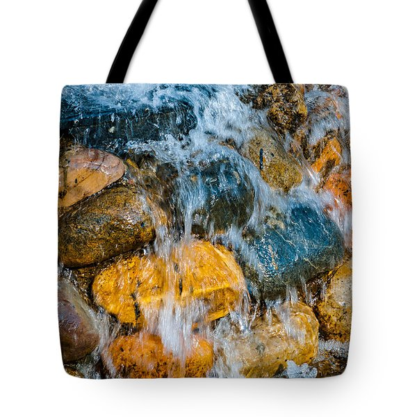 Tote Bag featuring the photograph Fresh Water by Alexander Senin