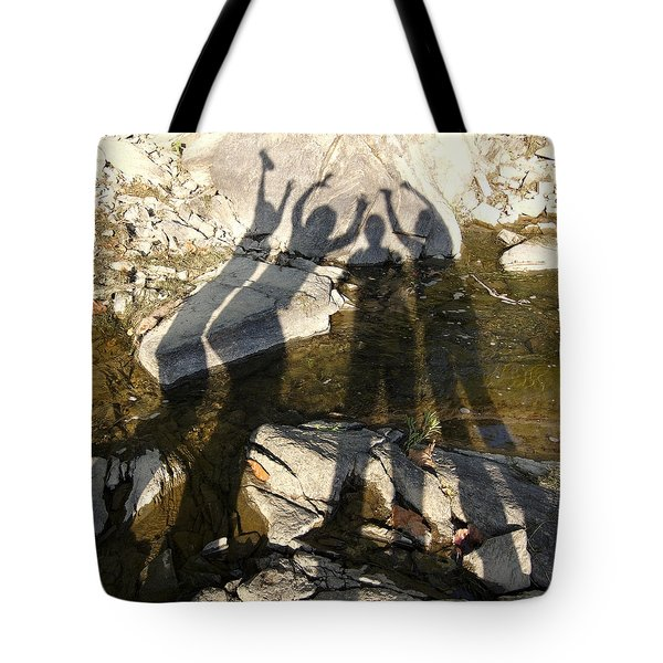 Friends Tote Bag by Julie Niemela