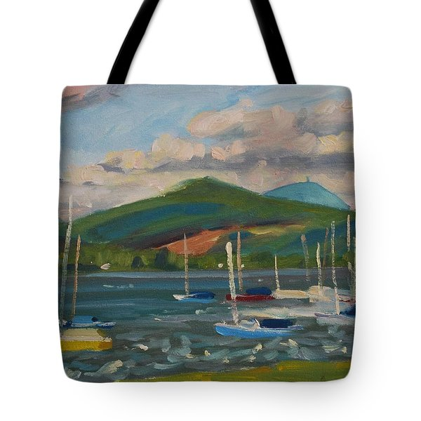 From The Blue Anchor Tote Bag