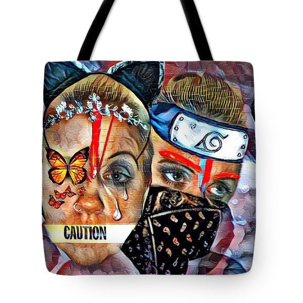 From Waif To Warrior Tote Bag
