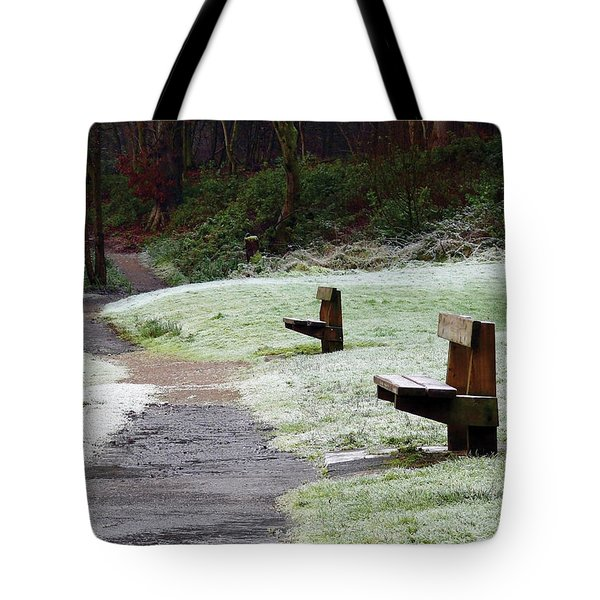Tote Bag featuring the photograph Frosty Morning In Drum Manor by Colin Clarke