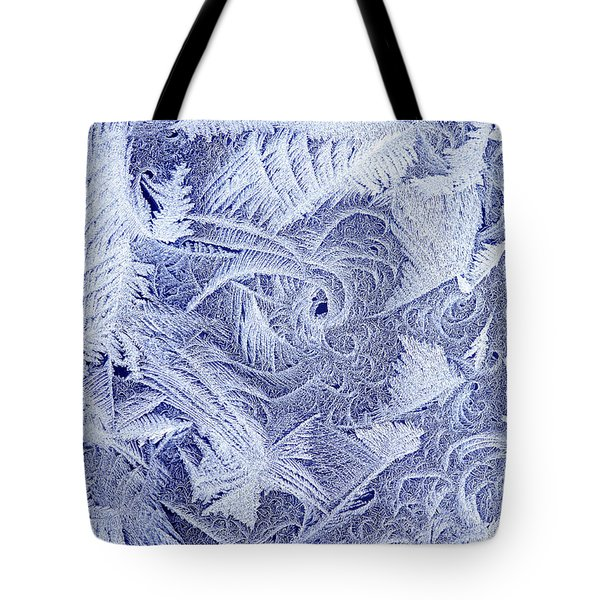 Frosty Window Tote Bag by George Robinson