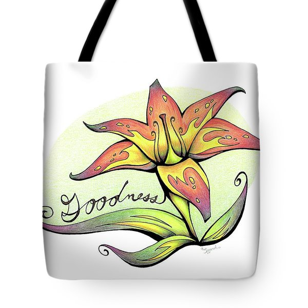 Fruit Of The Spirit Series 2 Goodness Tote Bag