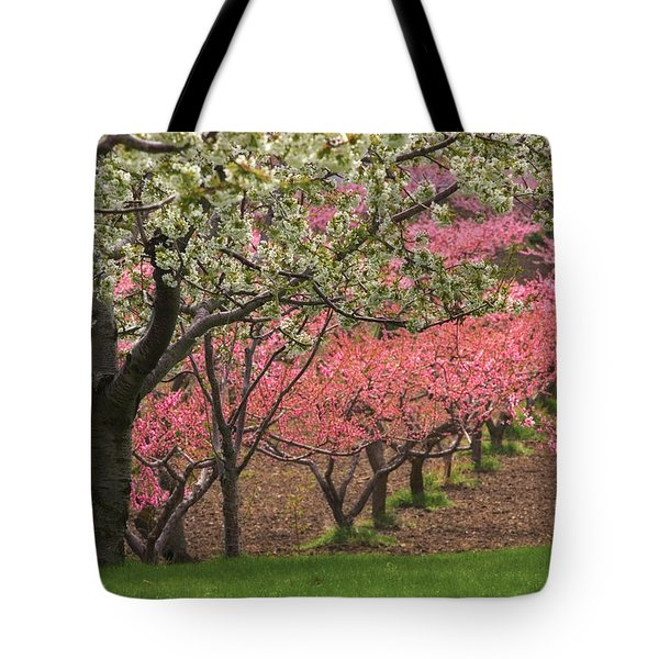 Fruit Orchard Tote Bag