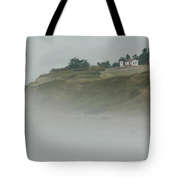 Ft. Casey Lighthouse Tote Bag