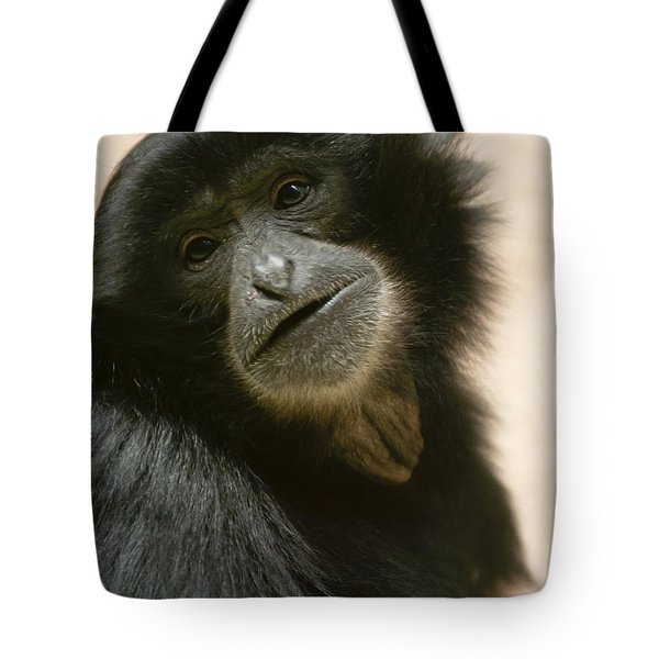 Funky Gibbon Tote Bag