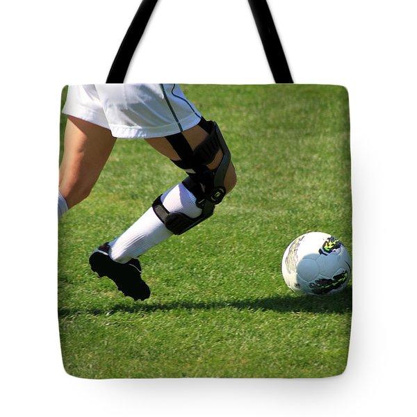 Futbol Tote Bag by Laddie Halupa