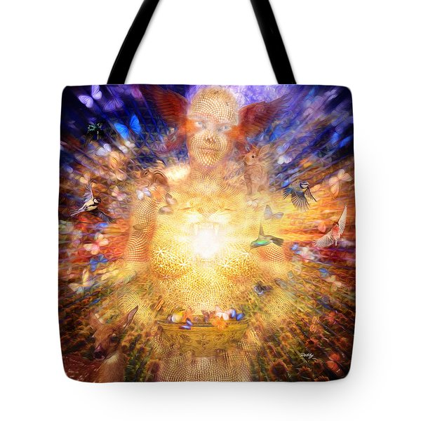 Gaia's Vibe Tote Bag by Robby Donaghey