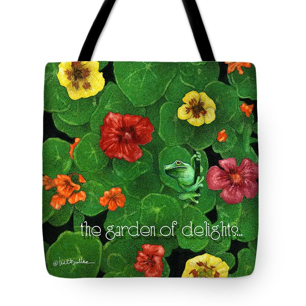 Garden Of Delights... Tote Bag