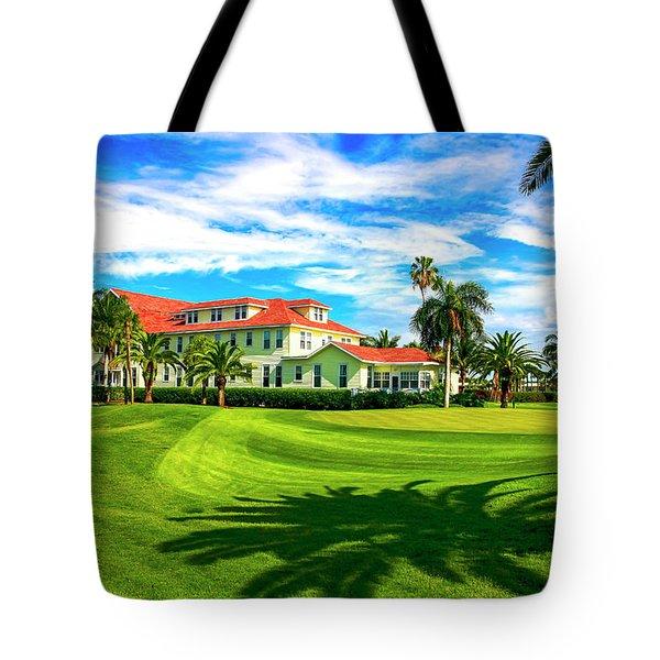 Gasparilla Inn, Boca Grande Fl Tote Bag