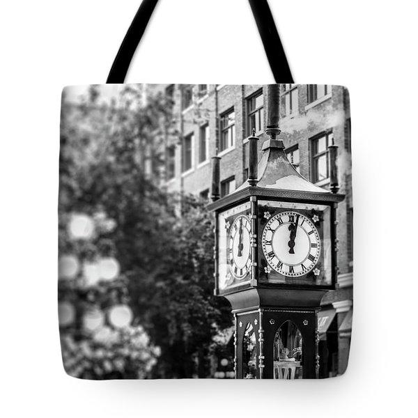 Gastown Steam Clock Tote Bag