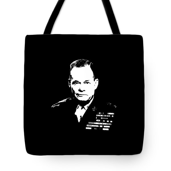 General Lewis Chesty Puller Tote Bag by War Is Hell Store