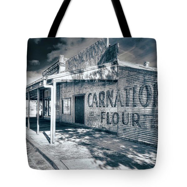 Tote Bag featuring the photograph General Store by Wayne Sherriff